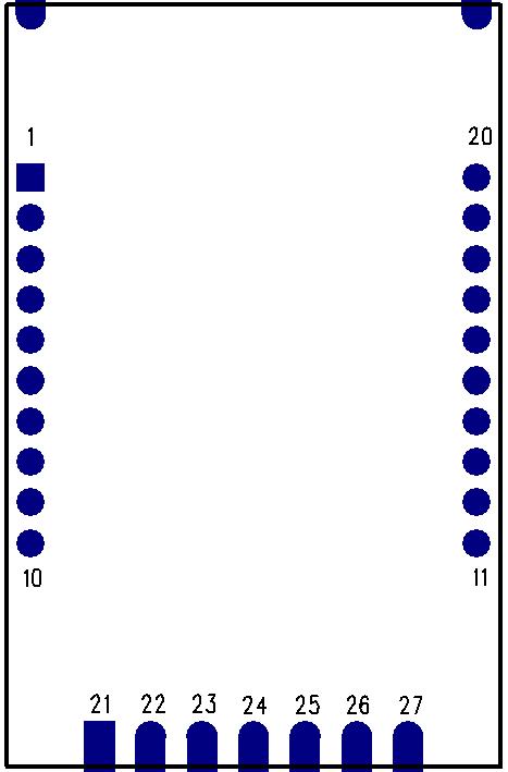 LoRa模块块引脚定义